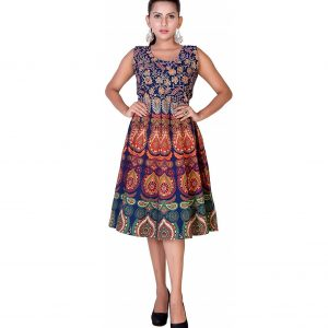 cotton jaipuri short frock kurti for 12-13-14 years girls