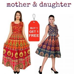 Mother & daugther dress
